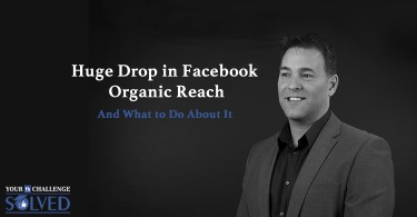 drop in Facebook organic reach