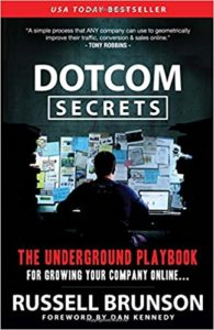 image of DotCom Secrets book by Russell Brunson