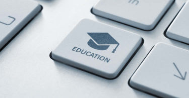image of keyboard with mortar board great training programs