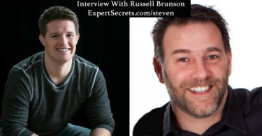 Picture of Russell Brunson with Steven Aitchison