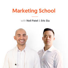 image of marketing school podcast cover